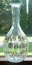Eagles Favorite - A. Breslauer Advertising Whiskey Decanter