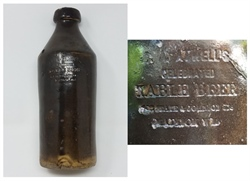 Madison Table Beer Earthenware Bottle