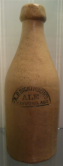 Stoneware Beer Bottles