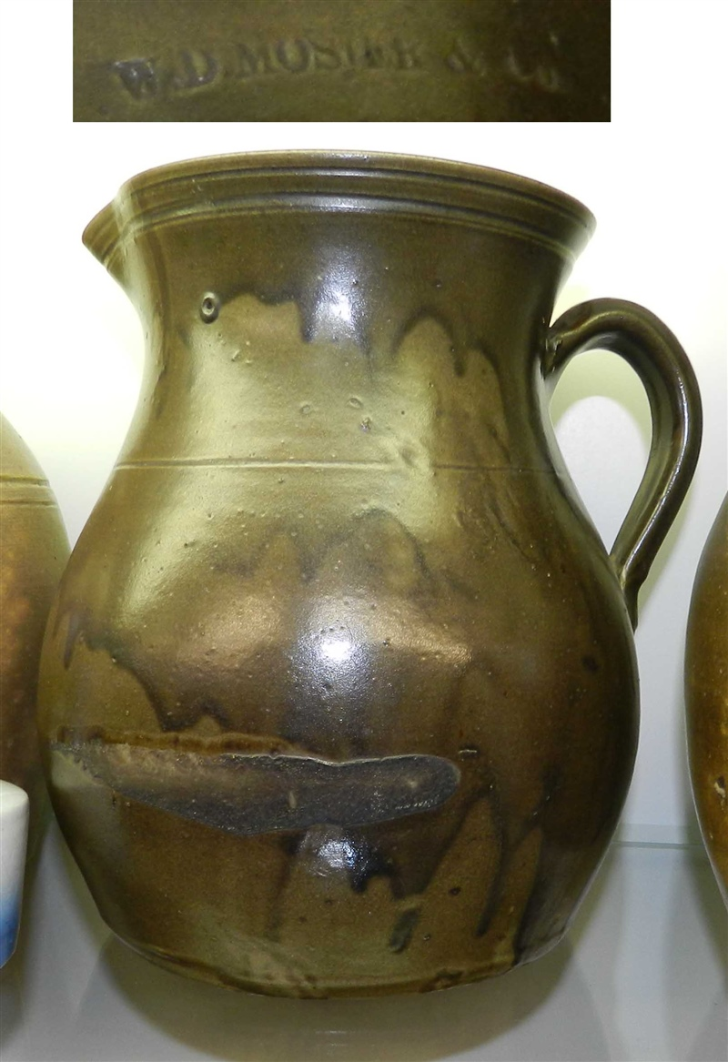 W D Mosier & Co pitcher